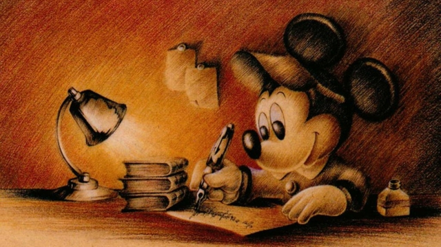 WritingMickey