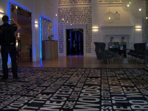 Warwick Hotel lobby