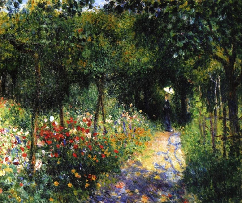 Renoir-woman-at-the-garden-1873