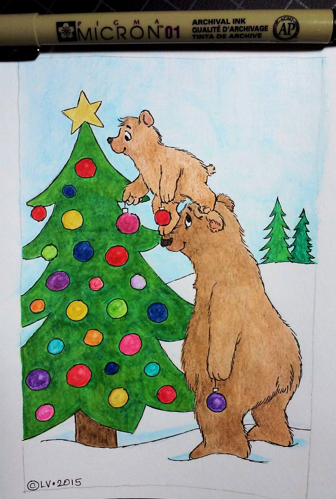 Decorating Bears