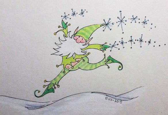 Elf Bounding with Joy