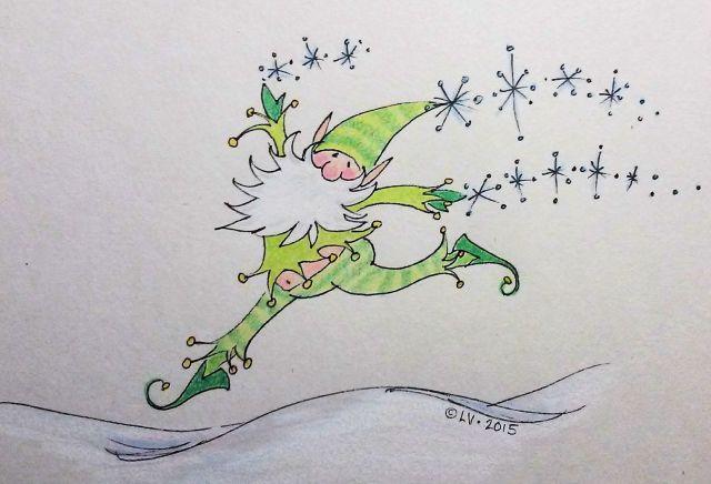 Elf Bounding with Joy