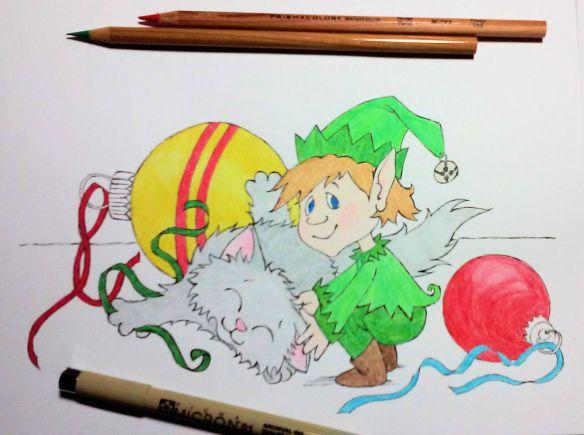 Elf & Kitten