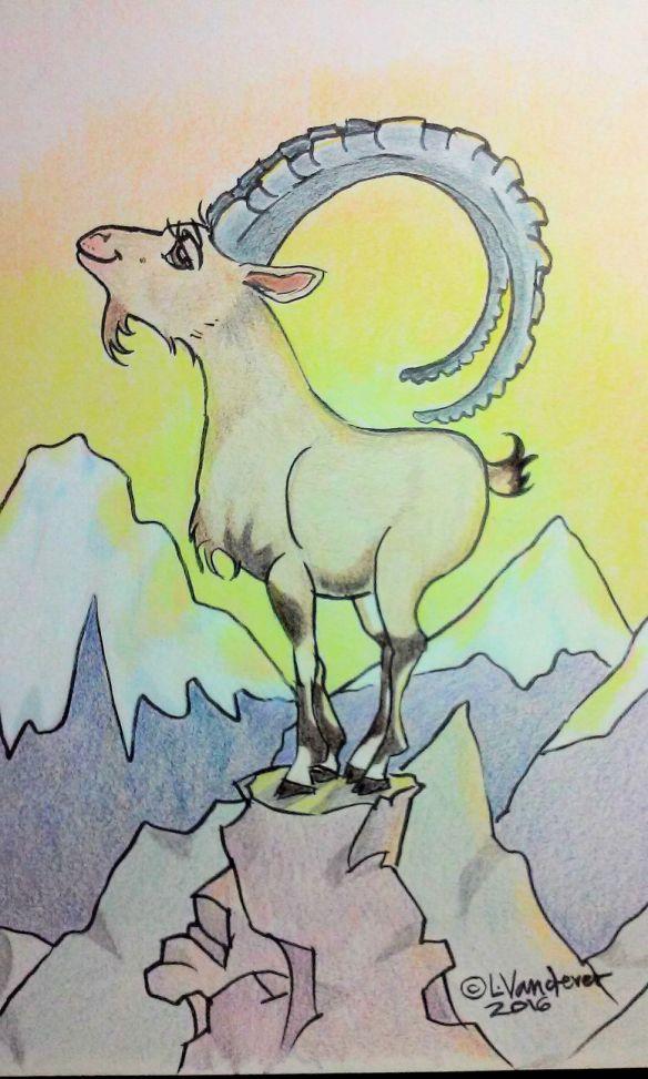Proud Ibex
